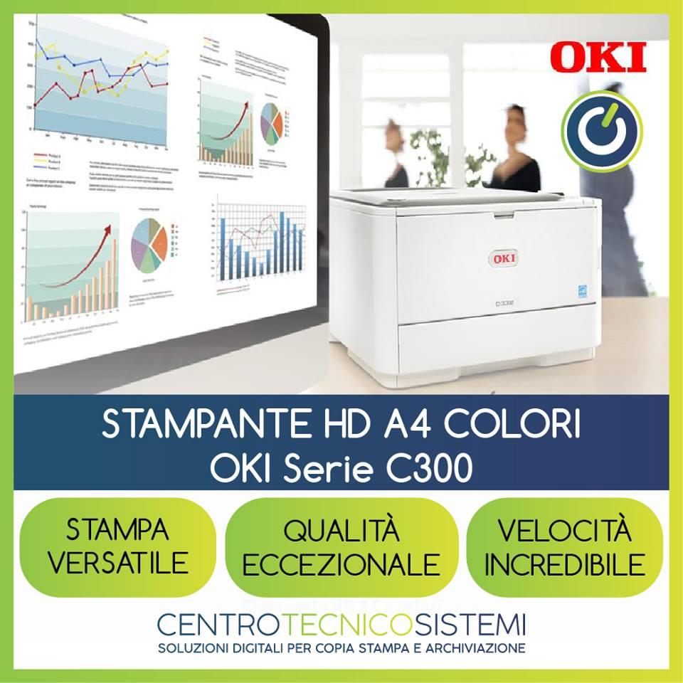 Scopri la serie C300 di OKI