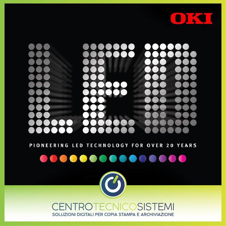 Stampanti LED Oki, caratteristiche e vantaggi