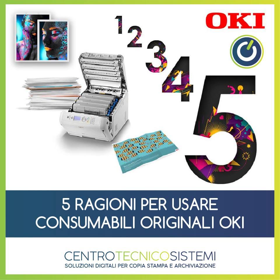 5 motivi per cui i materiali di consumo originali OKI garantiscono un ottimo rapporto qualità/prezzo