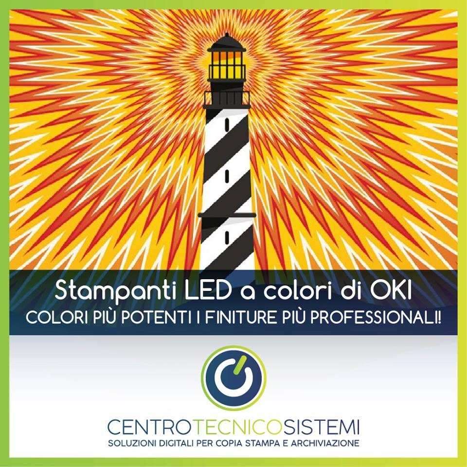 Noleggio Stampante LED Oki