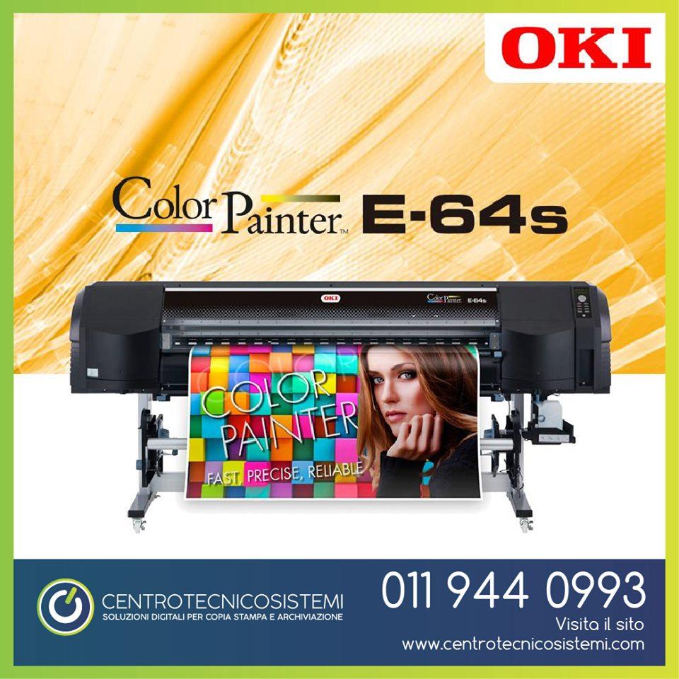 Oki E-64s stampante plotter