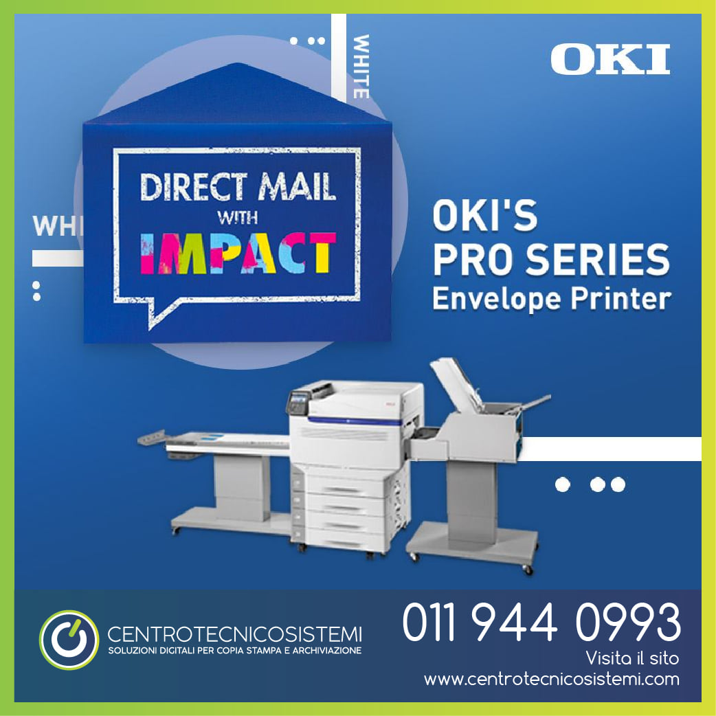 Direct mail: è possibile con OKI!