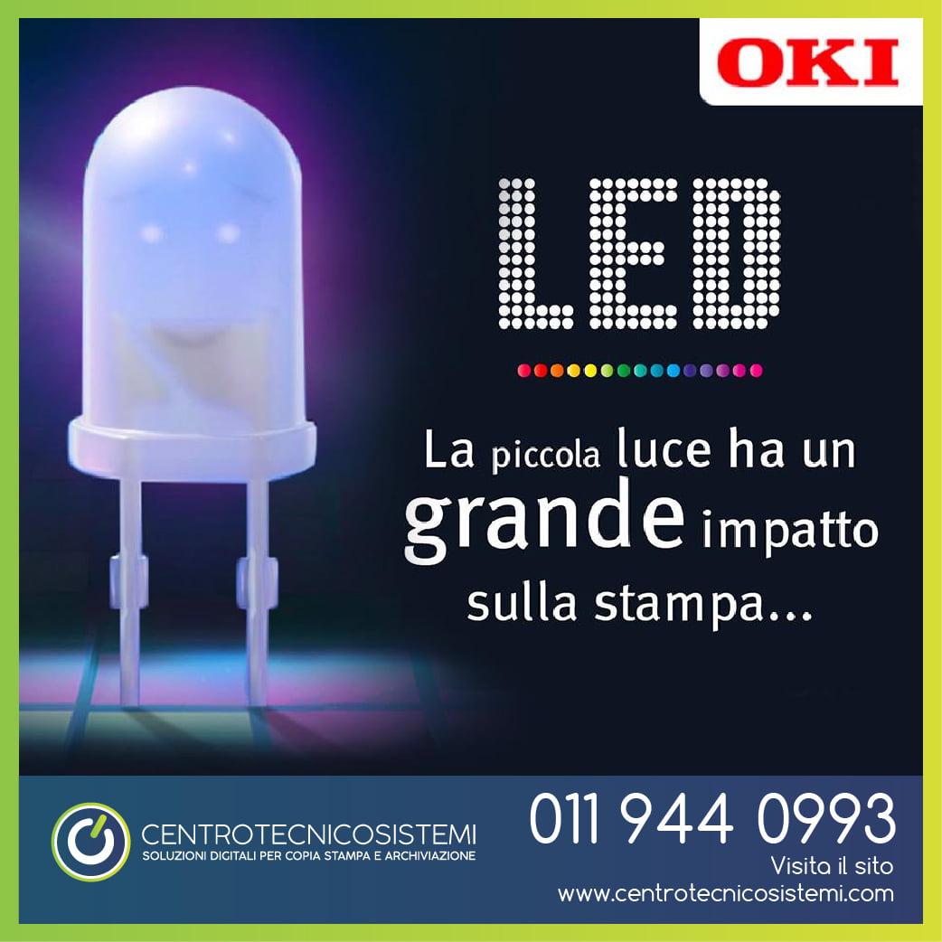 La tecnologia LED di Oki