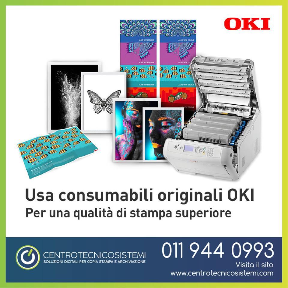 Consumabili Originali Stampanti e Multifunzione Oki