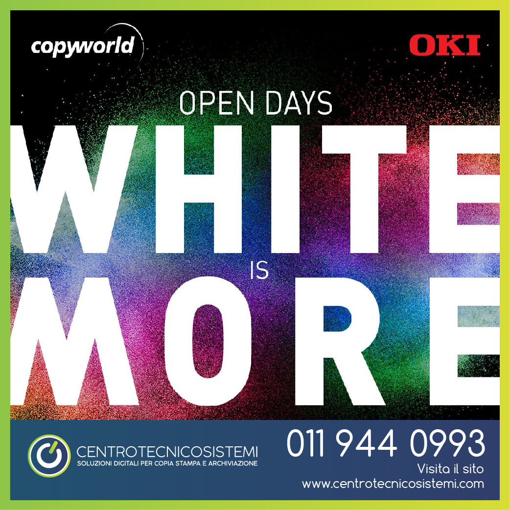 "Open days ""White is more"""