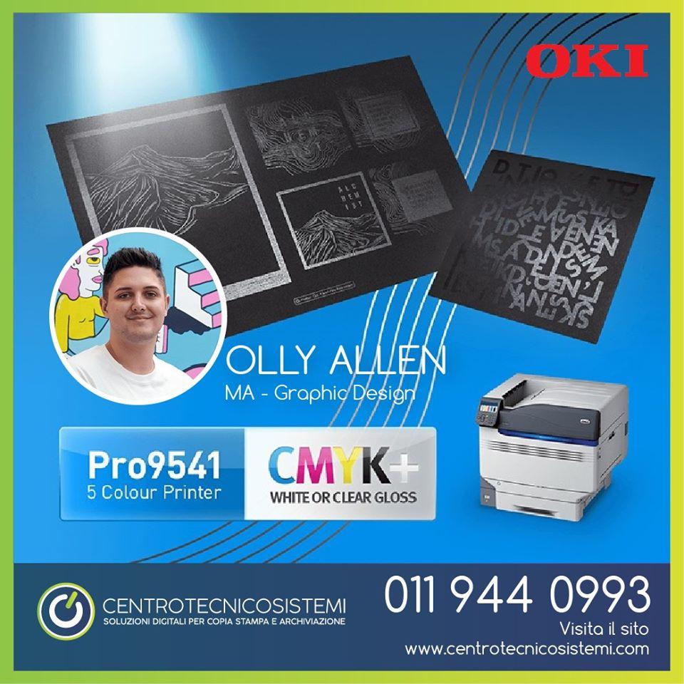 Pro9541, la stampante a 5 colori di OKI