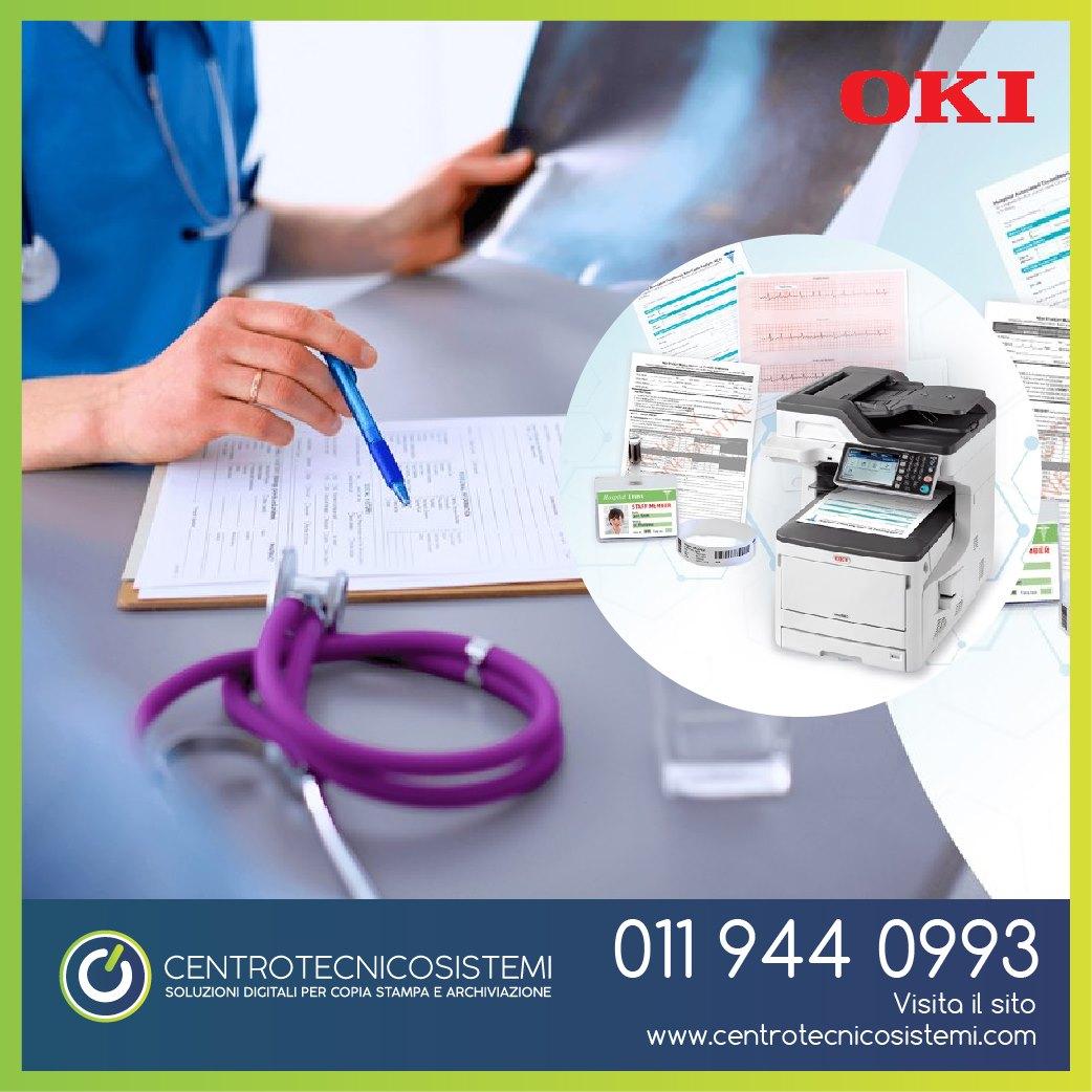 MC883 di Oki: la scelta ideale per la stampa di modulistica e documenti