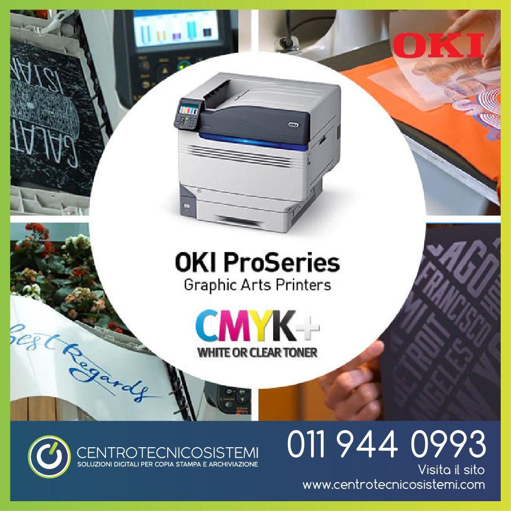 Stampante a 5 colori OKI Pro9541