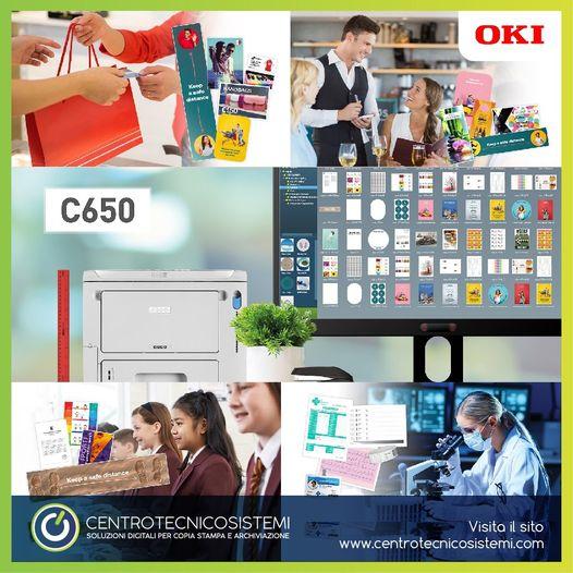 La nuova Oki C650