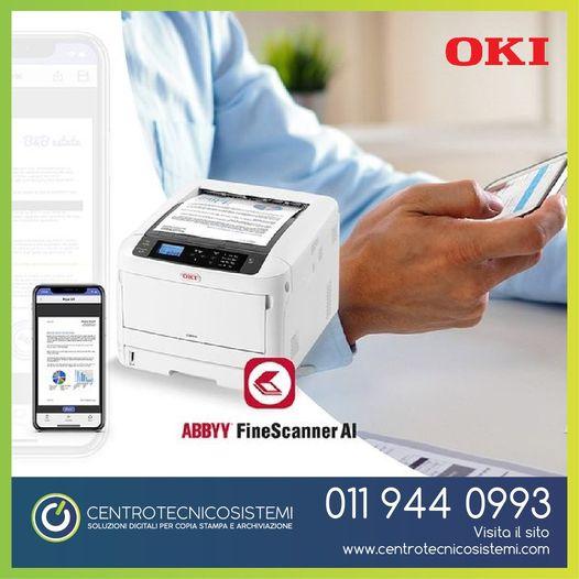 ABBYY FineScanner è il primo scanner mobile basato sull'Intelligenza Artificiale
