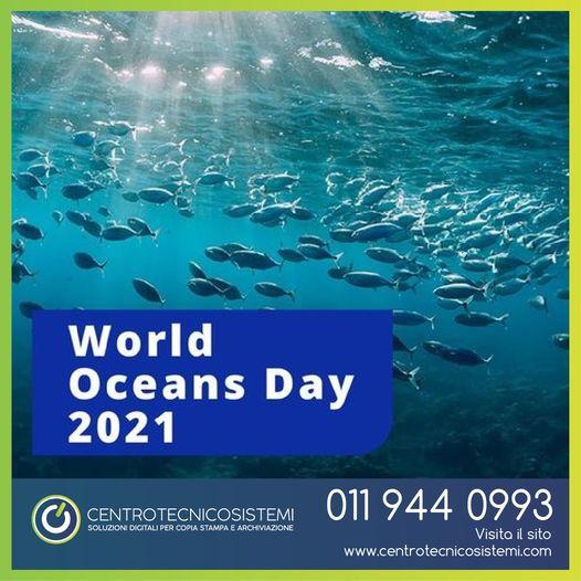 Oggi è il World Oceans Day!